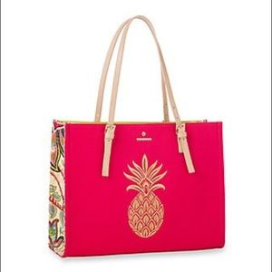 NWT Spartina 449 Salt Meadow Sand Tote